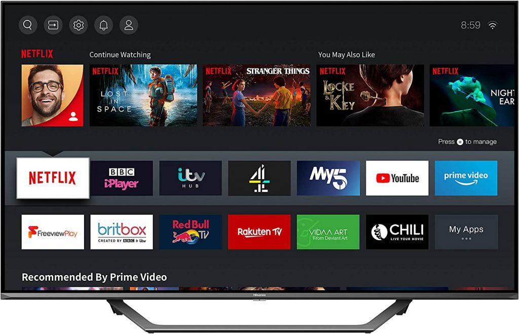 50-inch Hisense Boxing Day TV Deal UK