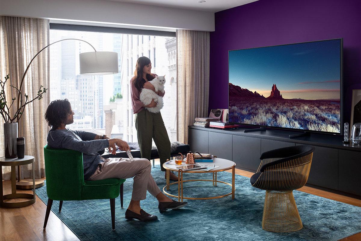 Samsung 8K TV in John Lewis Boxing Day TV Deals