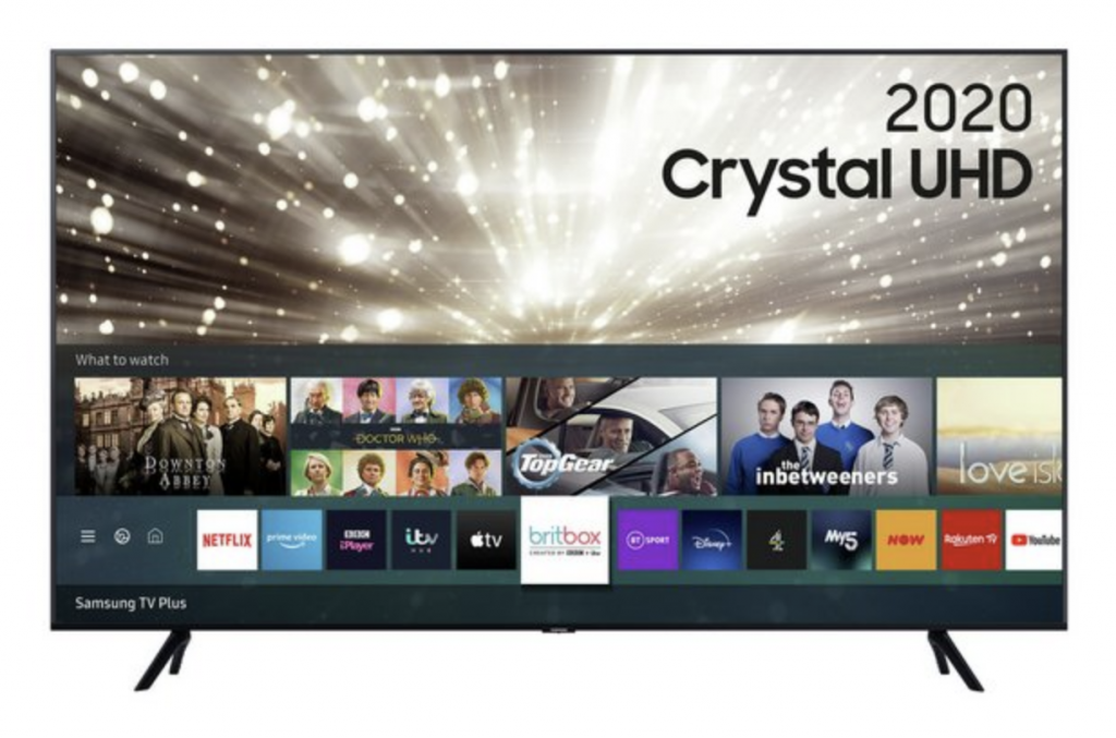 70-inch Samsung Boxing Day TV Deal